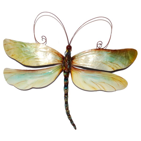 Dragonfly Wall Decor eangee home design dragonfly wall décor & reviews | wayfair