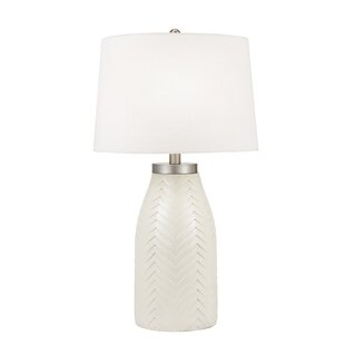 Collard Carved Chevron 32 Table Lamp