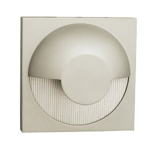 Latitude Run Patnaude 1-Light Outdoor Flush Mount