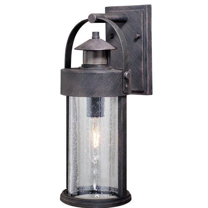 Ziegler Outdoor Wall Lantern With Motion Sensor
