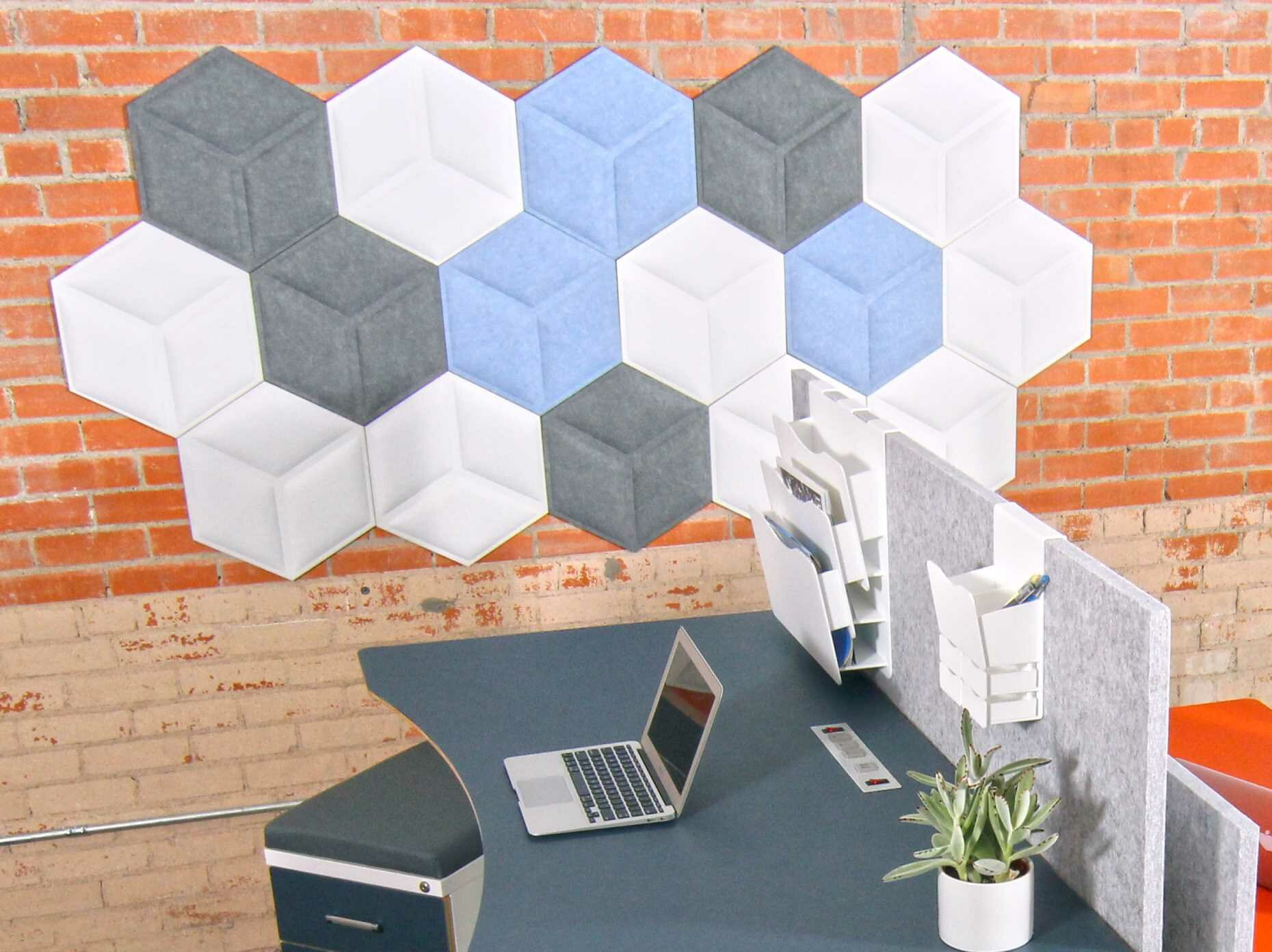 Ivy Bronx Hexagon Wall Décor Wayfair