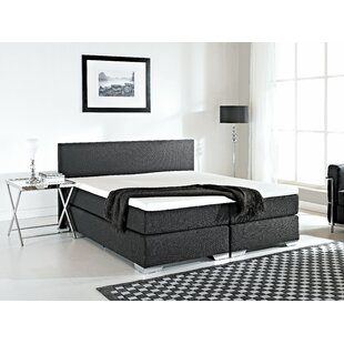 Gaskill Upholstered Panel Bed with Mattress by Brayden Studio