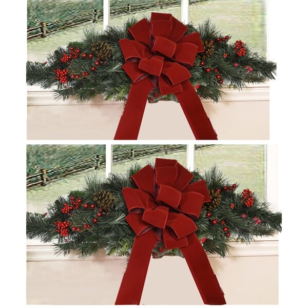 The Holiday Aisle Window Swag Reviews