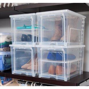 Price Check Women's Shoe Storage Box (Set of 4) ByIRIS USA, Inc.