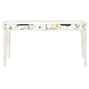 Kids Tropical 115cm W Writing Desk By Zoomie Kids
