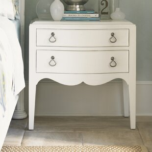 Tommy Bahama Home Ivory Key 2 Drawer Nightstand