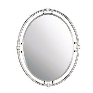 Red Barrel Studio Carylon Oval Beveled Mirror