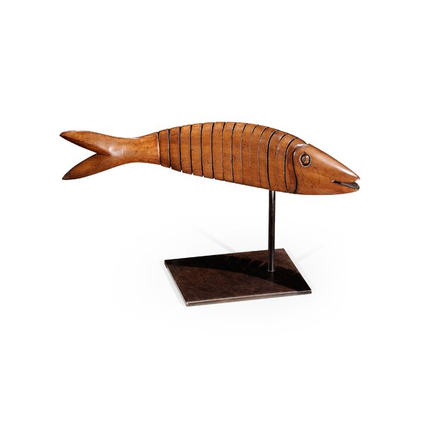 Wooden Fish On Stand Wayfair