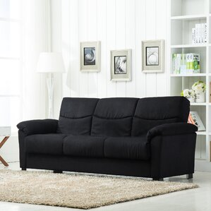 Melisa Fabric Storage Sleeper Sofa by Zipcode Design