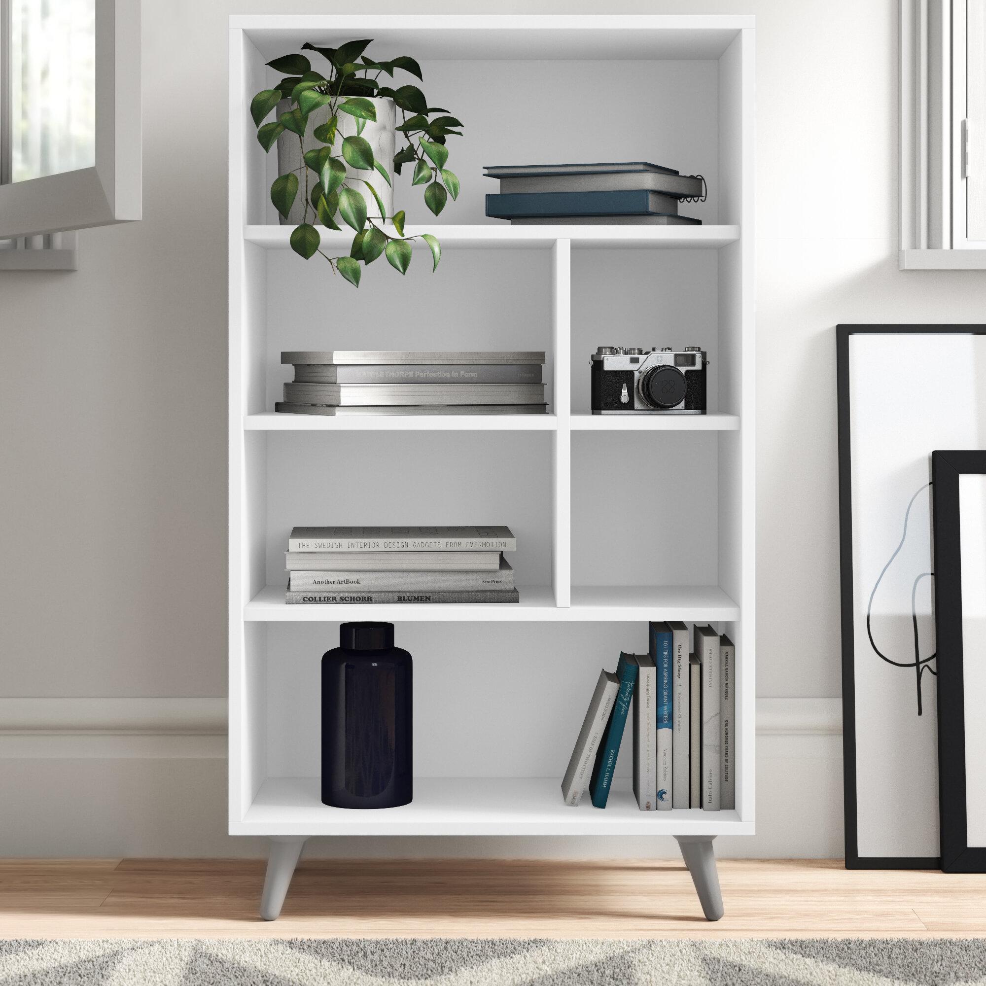 Zipcode Design Jaliyah Standard Bookcase Reviews Wayfair