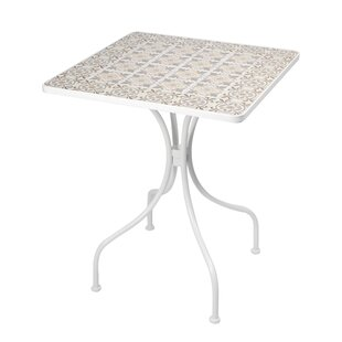 Lockett Folding Iron Dining Table By Bloomsbury Market
