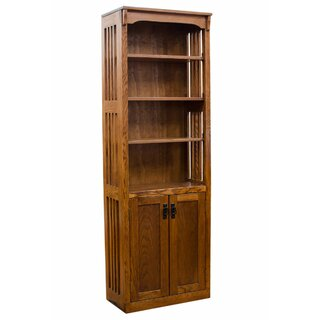 Whittaker Mission Spindle Standard Bookcase by Loon Peak SKU:DE489483 Guide