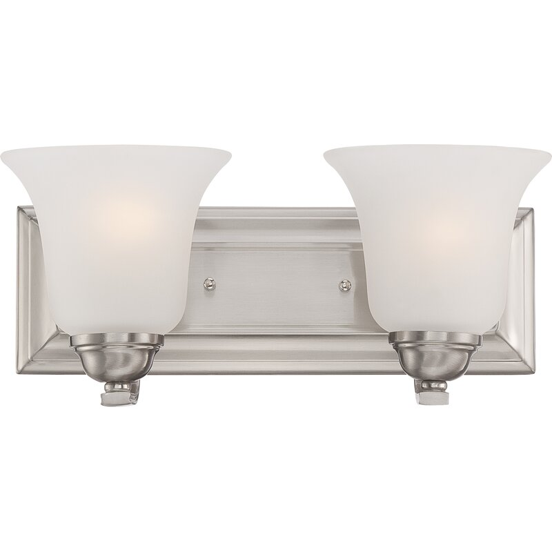 Hardin 2-Light Vanity (Brushed Nickel)