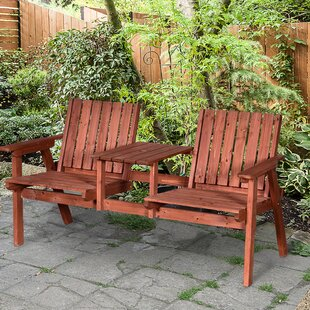 Willmount Wood Love Seat By Sol 72 Outdoor