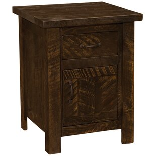 Best Frontier 1 Drawer Nightstand by Fireside Lodge