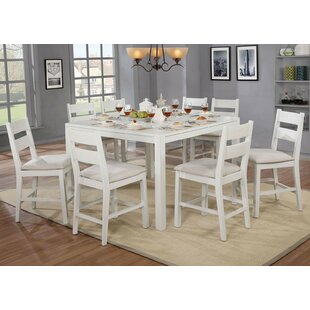 Ponder 9 Piece Counter Height Dining Set