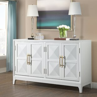 Aiello Four Door Geometric Front Sideboard