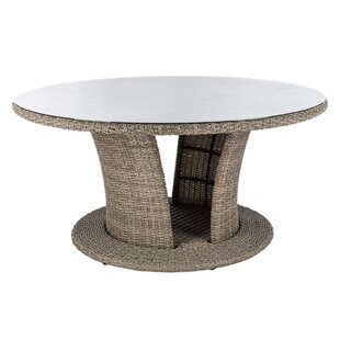 Diona Rattan Dining Table By Sol 72 Outdoor