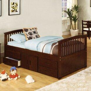 Harriet Bee Yate Twin Storage Platform Bed with 4 Drawers