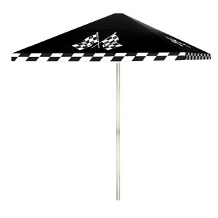 Have At It Boys 6' Square Market Umbrella by Best of Times
