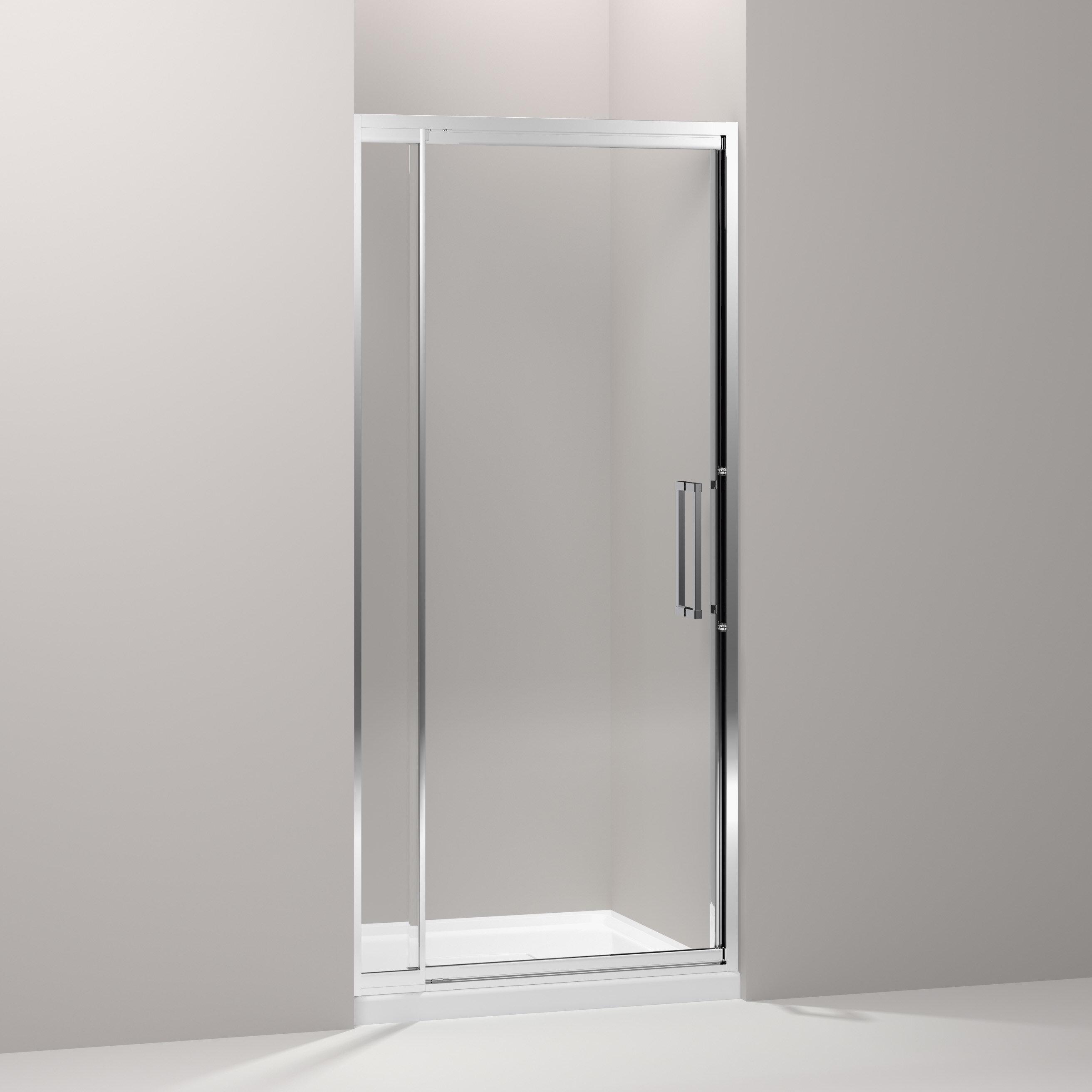 Lattis 39 X 76 Pivot Shower Door