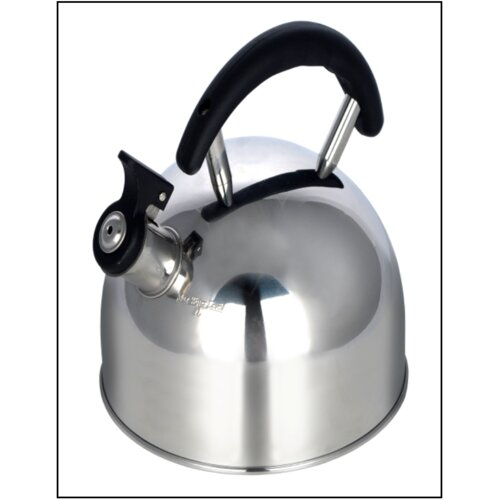 Stainless Steel 2L Whistling Stovetop Kettle Pendeford