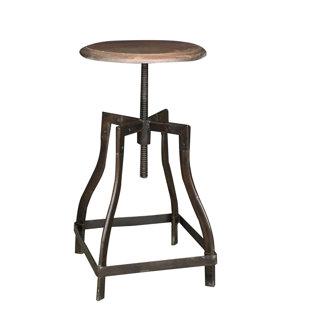 Bella Height Adjustable Swivel Bar Stool By Williston Forge