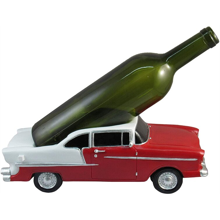 Williston Forge Classic Vintage Car Wine Bottle Holder Table Top Wine Rack Wine Holder And Wine Bar Accessories Classic Vintage Car Decor Kitchen Decor Kitchen Table Accessories Wayfair