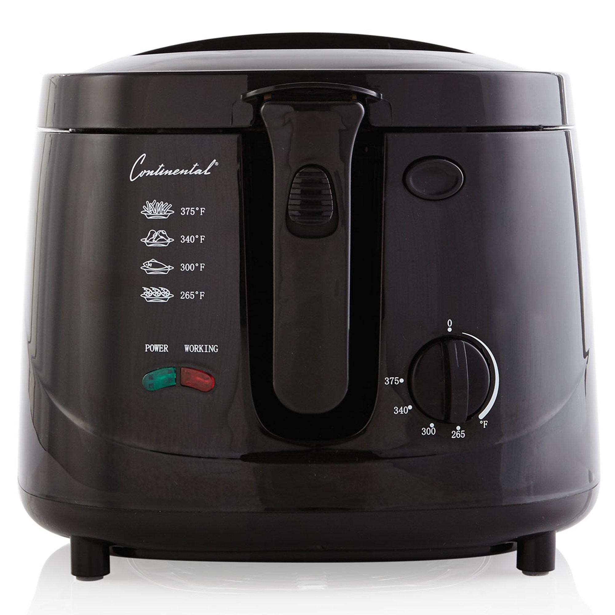 c7f416e909b ContinentalElectric 2.5 Liter Cool Touch Deep Fryer