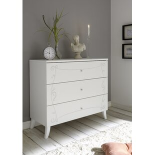 Bell Trace 3 Drawers Chest Of Drawers By 17 Stories