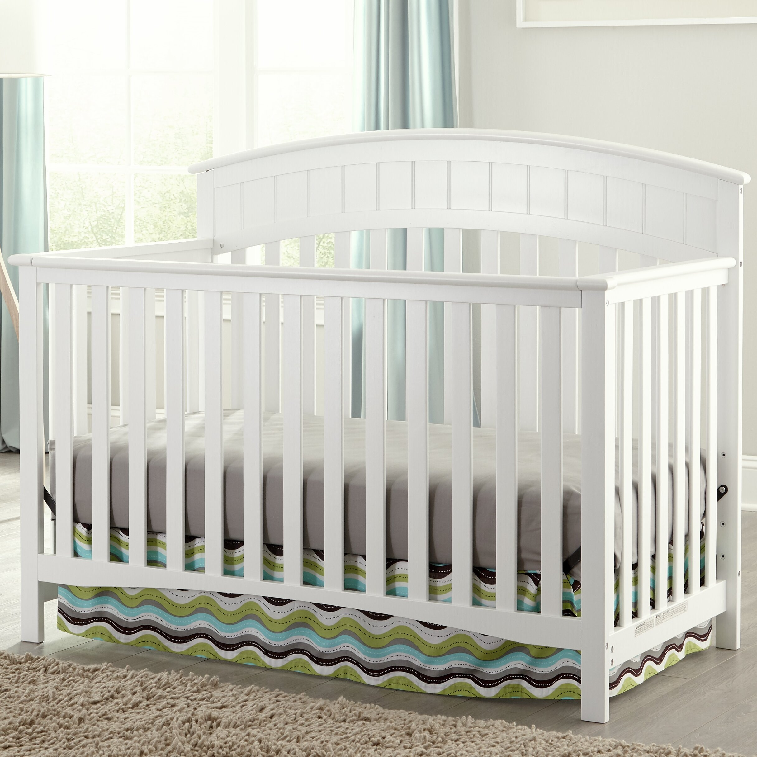 c922d1af3c Graco Charleston 4-in-1 Convertible Crib   Reviews