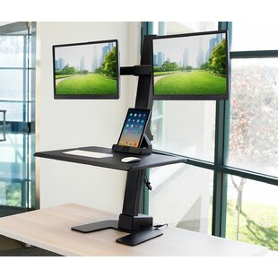 Clair Electric Height Adjustable Standing Desk Converter