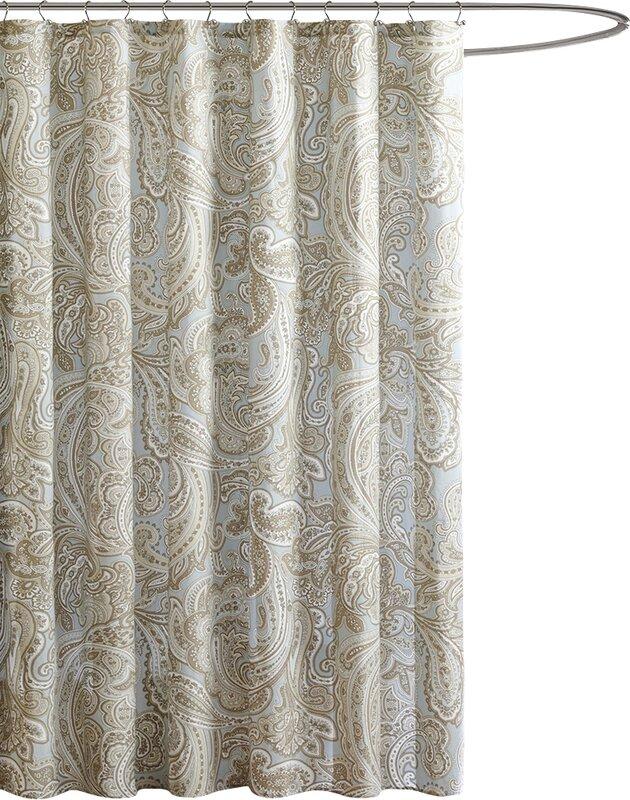 terry cloth shower curtain. Hixson Cotton Shower Curtain Curtains You ll Love  Wayfair