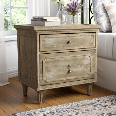 Clintwood 2 Drawer Nightstand