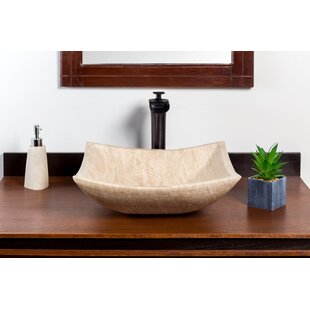 Order Petal Stone Square Vessel Bathroom Sink ByLaguna Marble