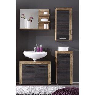 Partone 4 Piece Bathroom Storage Furniture Set By Mercury Row