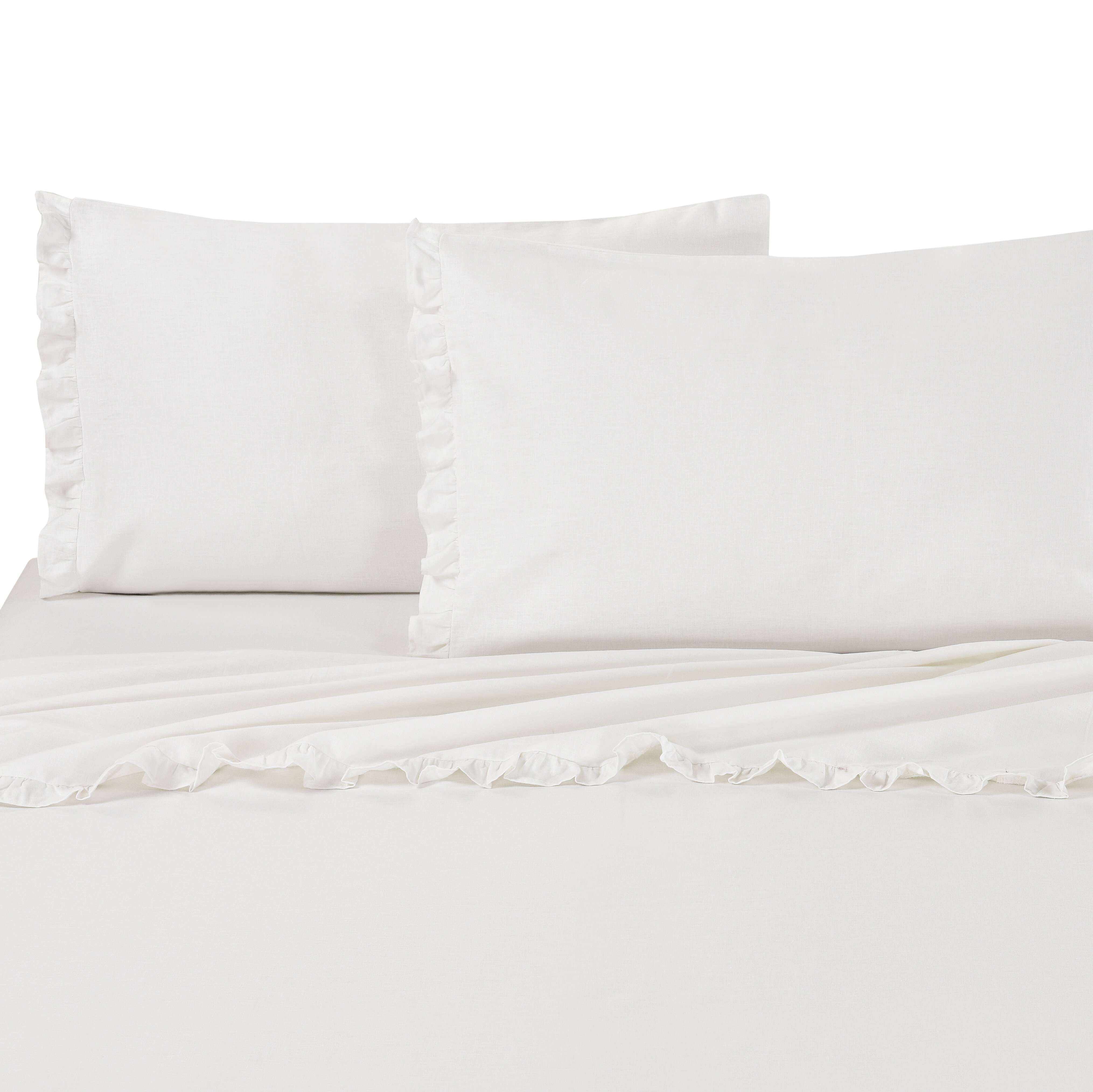 Ophelia Co Dunaway Linen And Cotton Pillow Case Wayfair