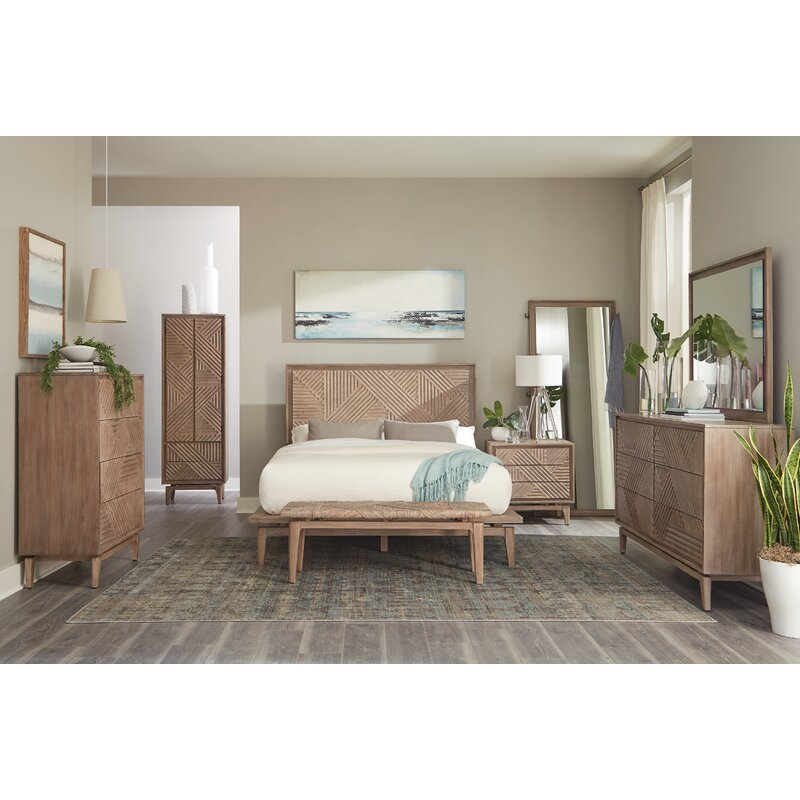 Corrigan Studio Sudbury Platform Configurable Bedroom Set Reviews Wayfair