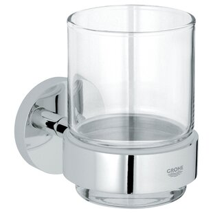 Best Reviews Essentials Tumbler and Tumbler Holder ByGrohe