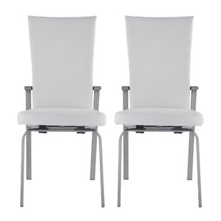 Lyusha Upholstered Dining Chair (Set of 2) Orren Ellis