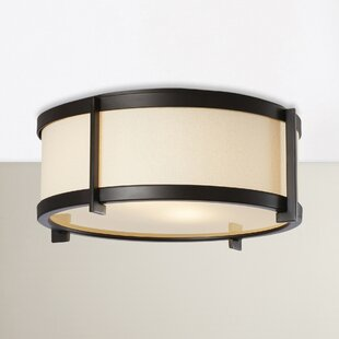 Low priced Strope 2-Light Flush Mount By Brayden Studio