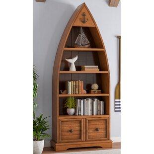 Vella Boat Standard Bookcase by Longshore Tides Great price