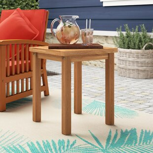 Great choice Corum Teak Side Table By Highland Dunes