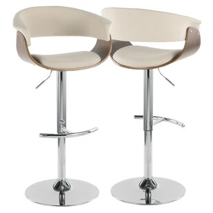 Frederick Adjustable Height Swivel Bar Stool