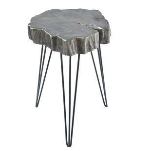 Buzzard Rustic Crosscut Tree End Table