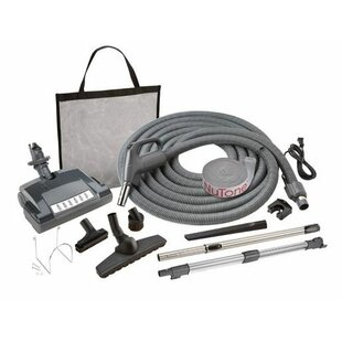 Combination Carpet and Bare Floor Electric Pigtail Vacuum Attachment Kit by Broan