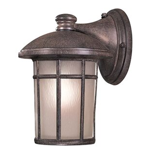 Cranston 1-Light Outdoor Wall Lantern By Great Outdoors by Minka Outdoor Lighting