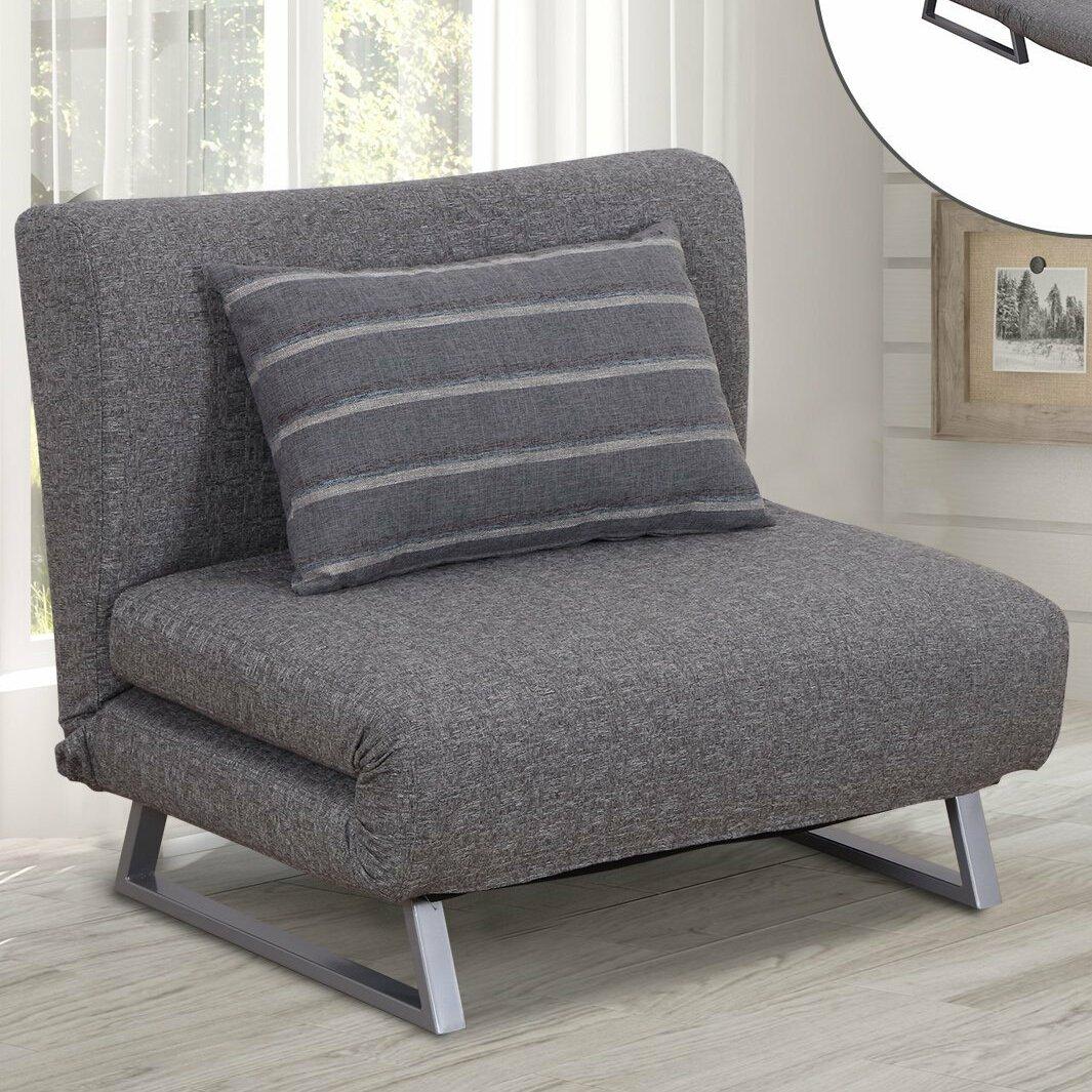 Homcom Convertible Lounge Couch 2 Seater Futon Chair Wayfair Co Uk