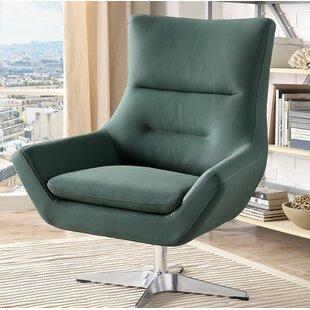 Winningham Swivel Wingback Chair by Orren Ellis