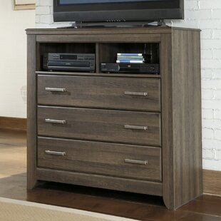 Granite Range 3 Drawer Media Chest